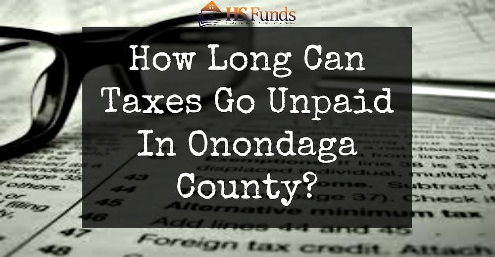 Unpaid Property Taxes Onondaga County