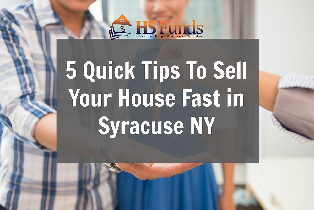 Sell house fast syracuse ny