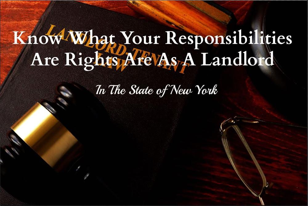 Landlord rights New York