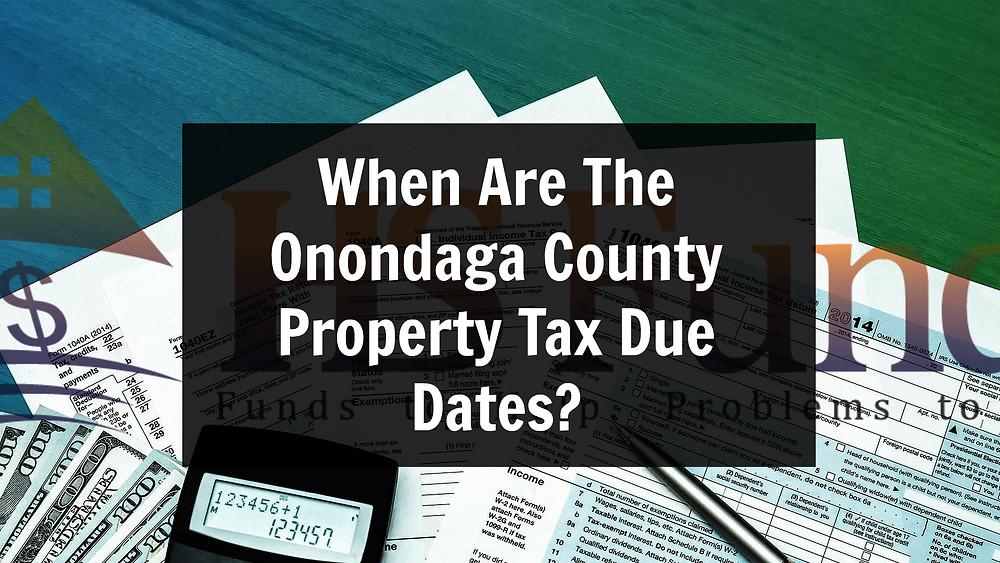 Onondaga county property Taxes