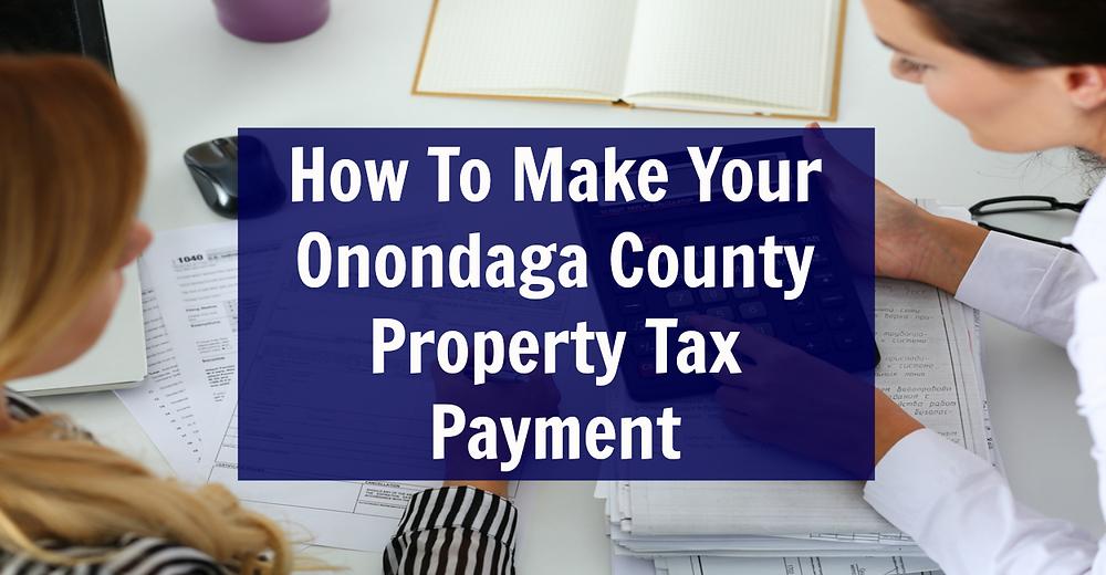 Onondaga County Property Tax Payment