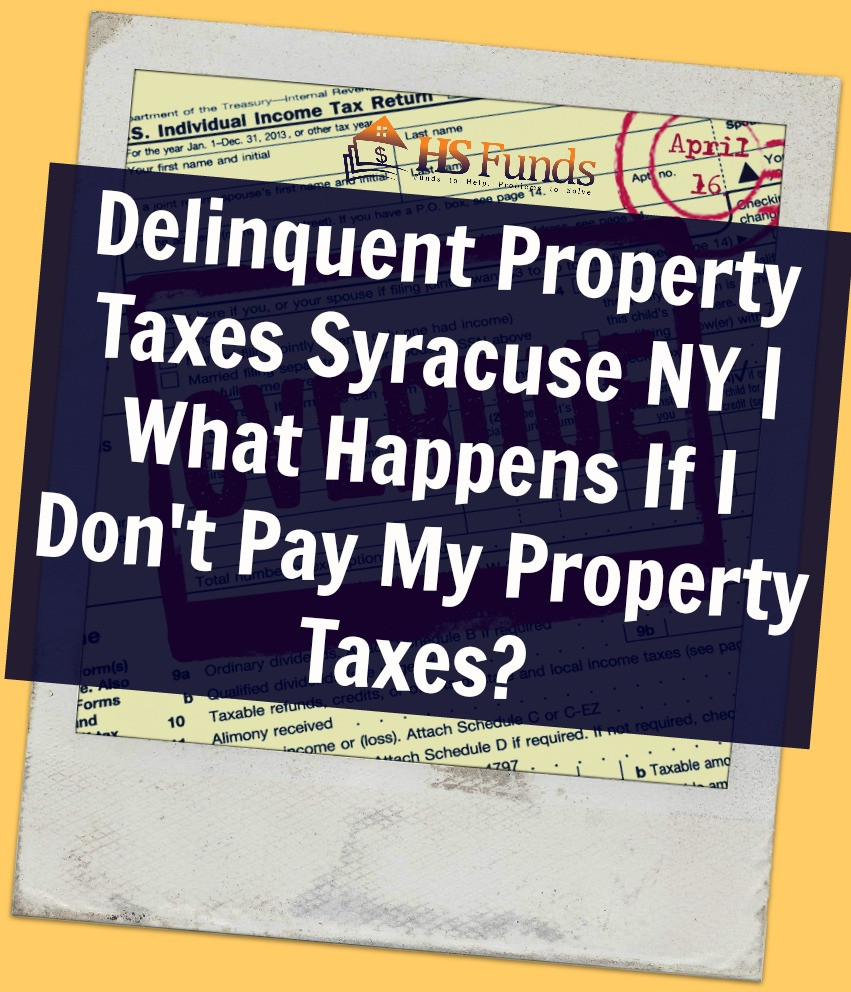 Delinquent Property Taxes Syracuse NY
