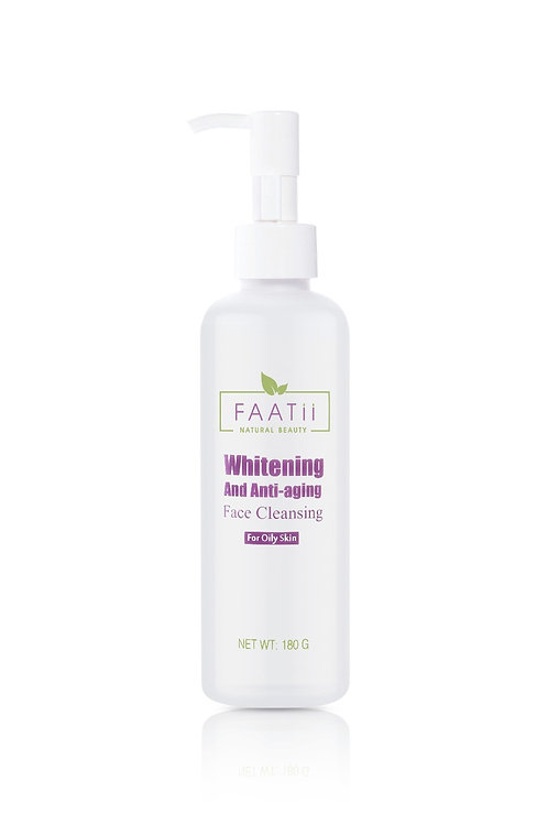 Whitening and anti-aging face cleanser( for oily).