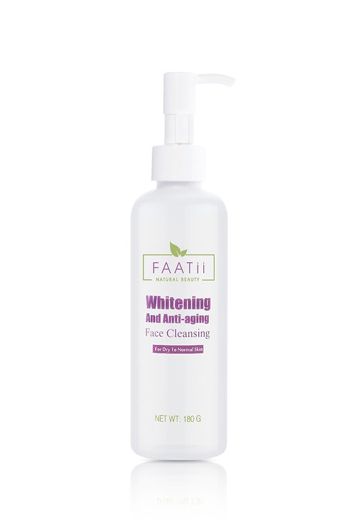 Dry to normal face cleanser