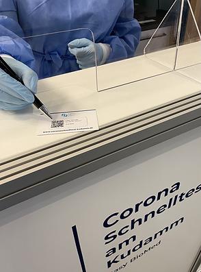 Corona Testzentrumin Berlin von Easy BioMed