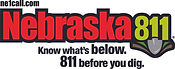Nebraska 811 Logo NEW Tagline 112619 wit