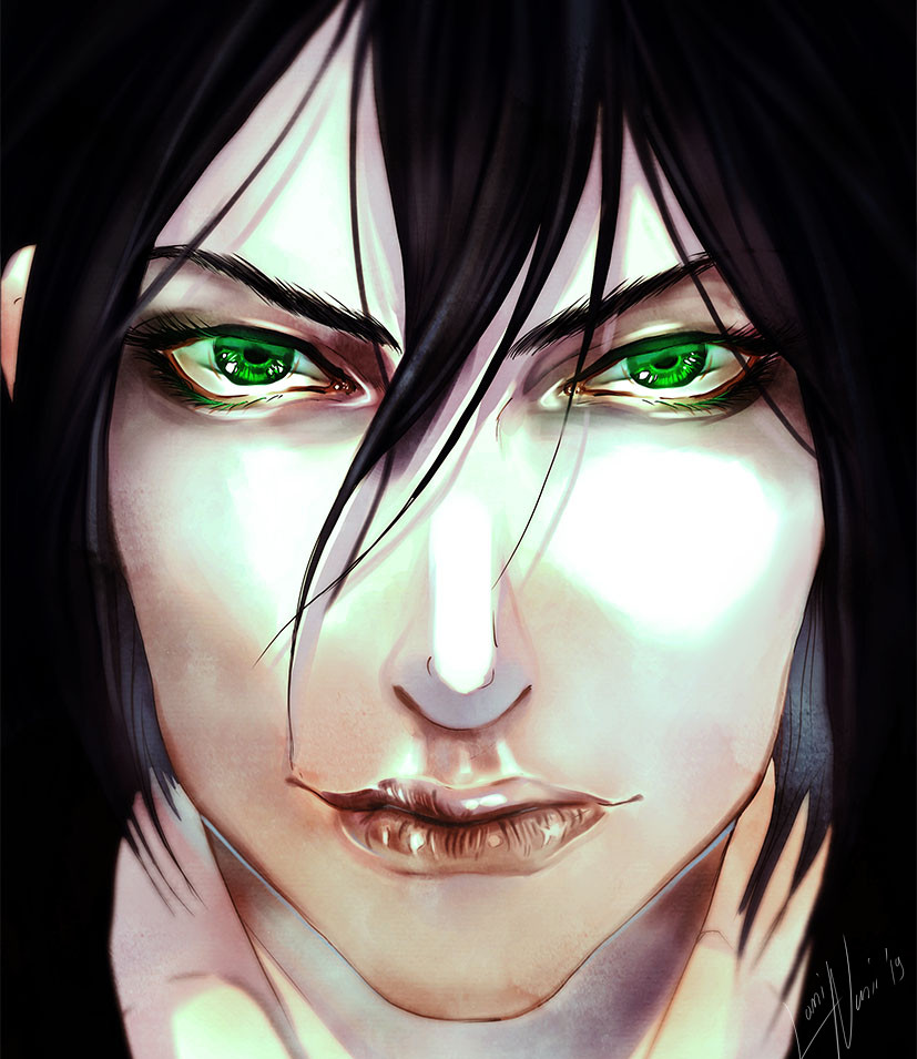 VLAD GREEN EYES