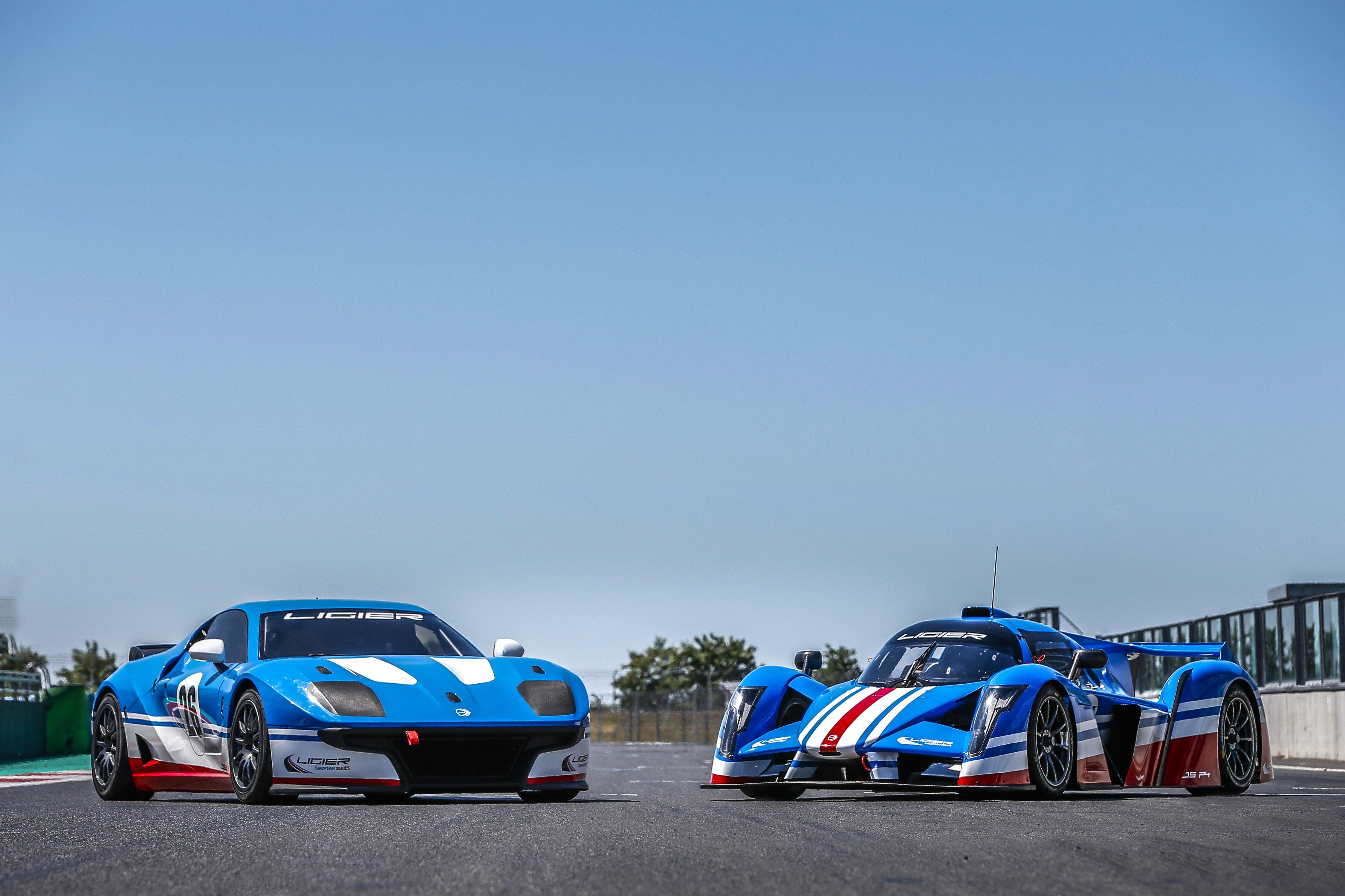 Ligier JS2R et JSP 4