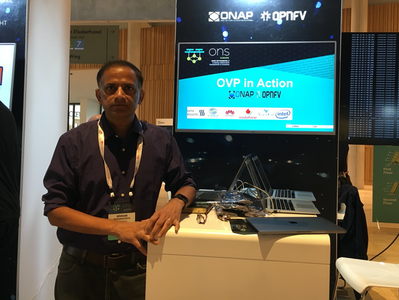 Aarna OVP Demo and ONAP as MEC-in-NFV Orchestrator Activities at ONS Europe 2019