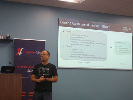 ONAP & OPNFV Training Discussion at OSN User Group Meetup