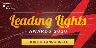 Our 5G Demo is a Light Reading Leading Lights Awards 2020 Finalist