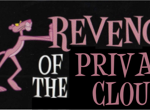 Amdahl's Law and the Revenge of Private Clouds