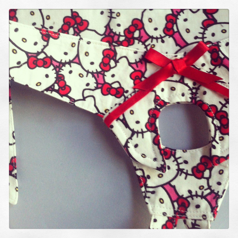 Hello Kitty Strapon Harness