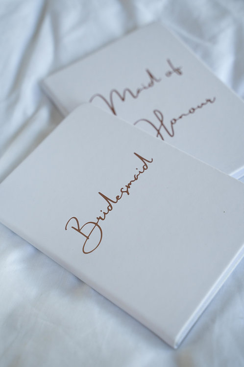 BRIDAL PARTY NOTEBOOK
