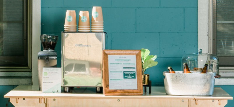 Coffee Cart Catering - Small Group