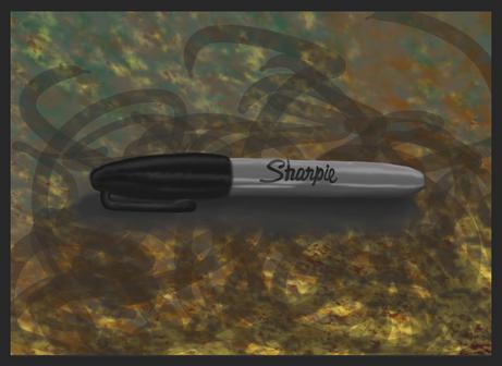 Sharpie Painting (JenniferPtk)