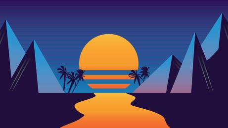 Vaporwave Sun (JenniferPtk)