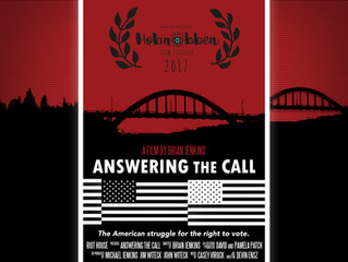 Answering the Call Screening at Hobnobben Film Festival 2017