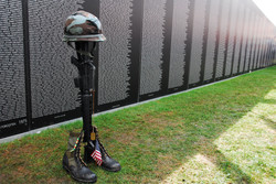 Vietnam War Memorial - Salute