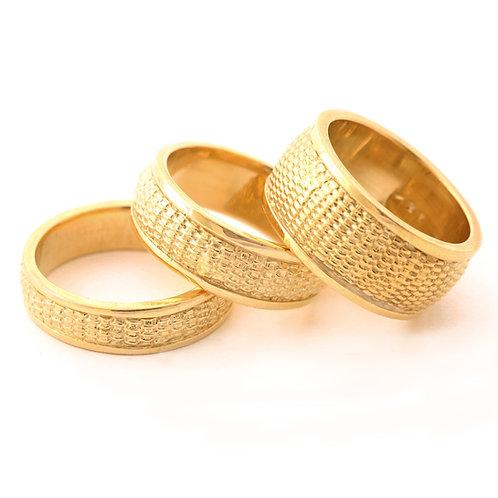 Nantucket Basket Weave Rings