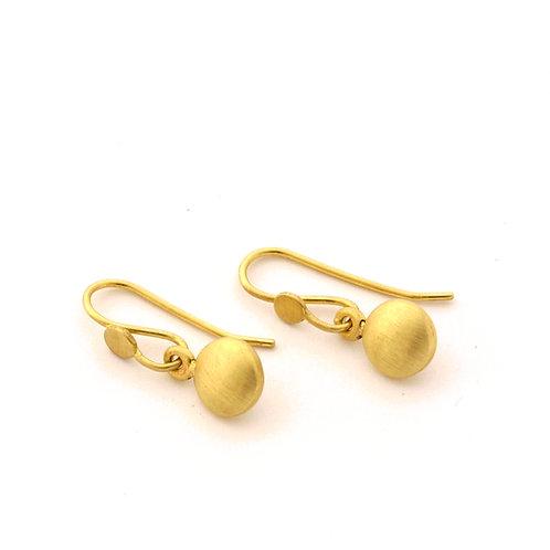 18k Drop Earrings.