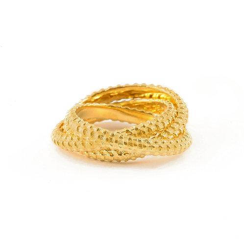Basket Weave Rolling Rings