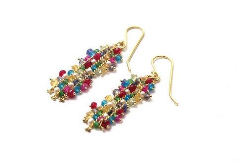 Multicolor Magic Carpet Earrings