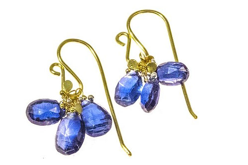 Kyanite Briolette Earrings