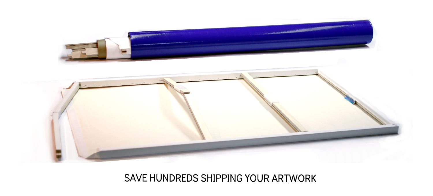 New C >> Genie Canvas - How to Ship Large Artwork and Paintings | New York