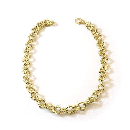 Sliced link Necklace