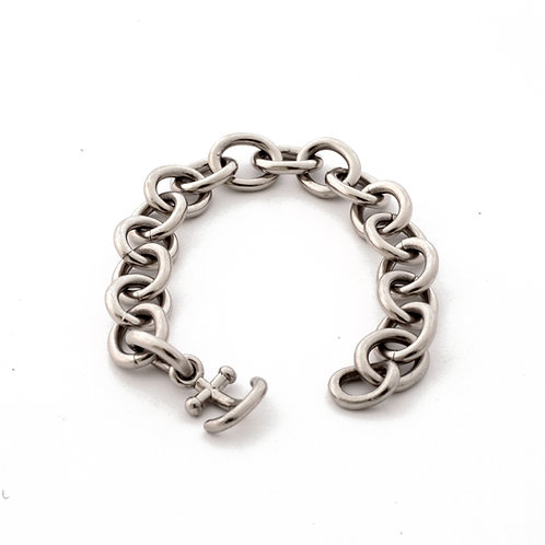 Anchor Bracelet in Palladium.
