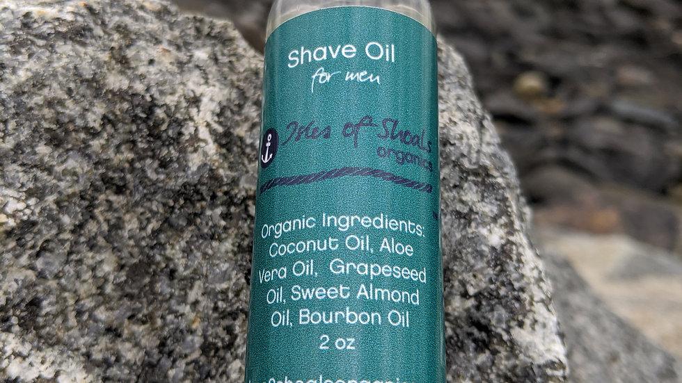 Bourbon Shave Oil