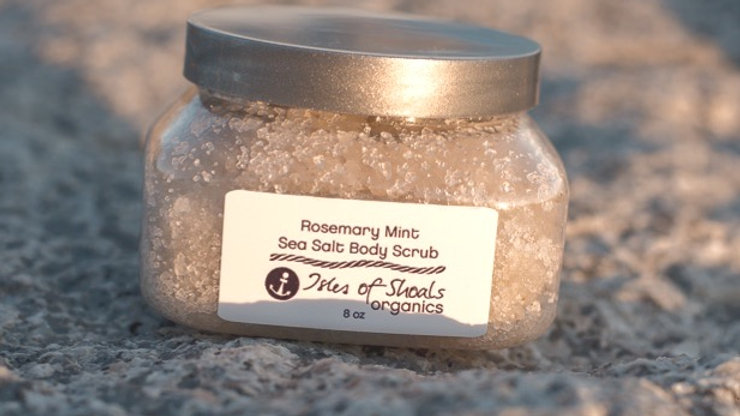 Rosemary Mint Dead Sea Salt Body Scrub