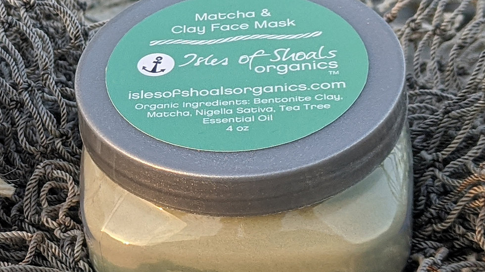 Matcha Clay Face Mask