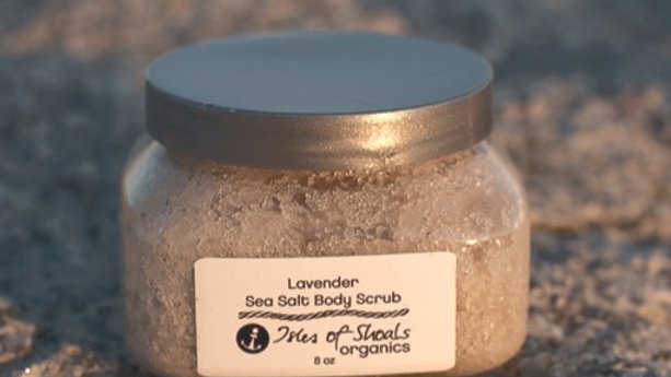 Lavender Dead Sea Salt Body Scrub