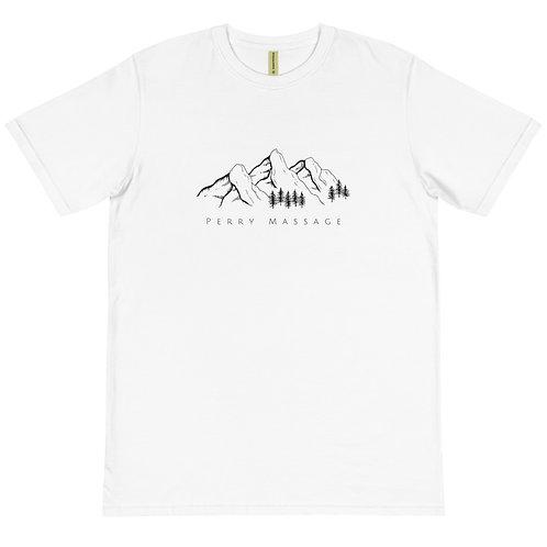 Mountains - White - Organic T-Shirt