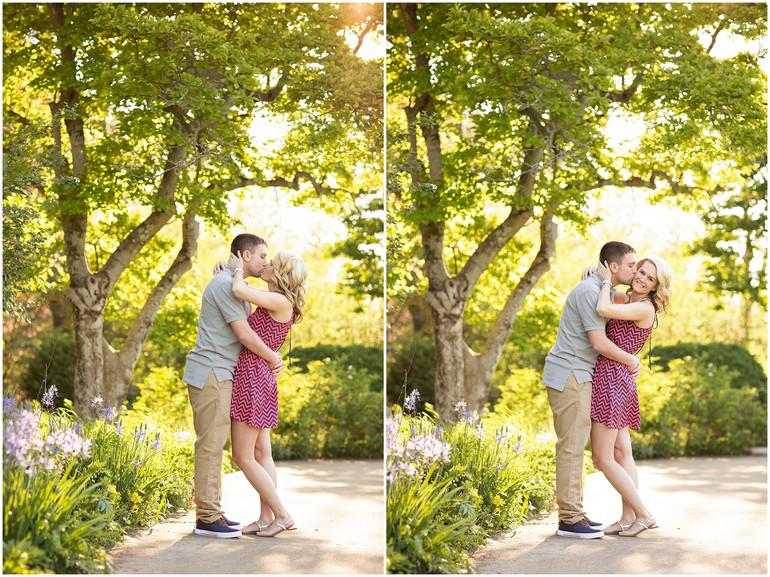 Jen & Scott's Springtime Engagement Session