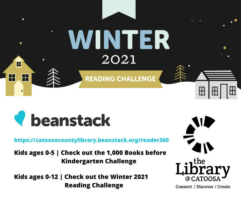 Winter 2021 Beanstack Reading Challenges