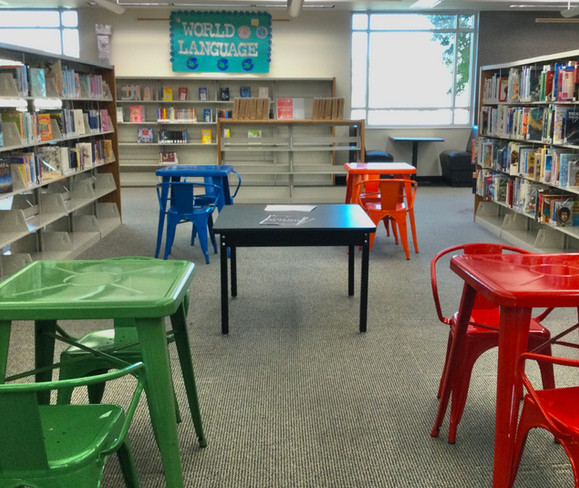 New sitting area
