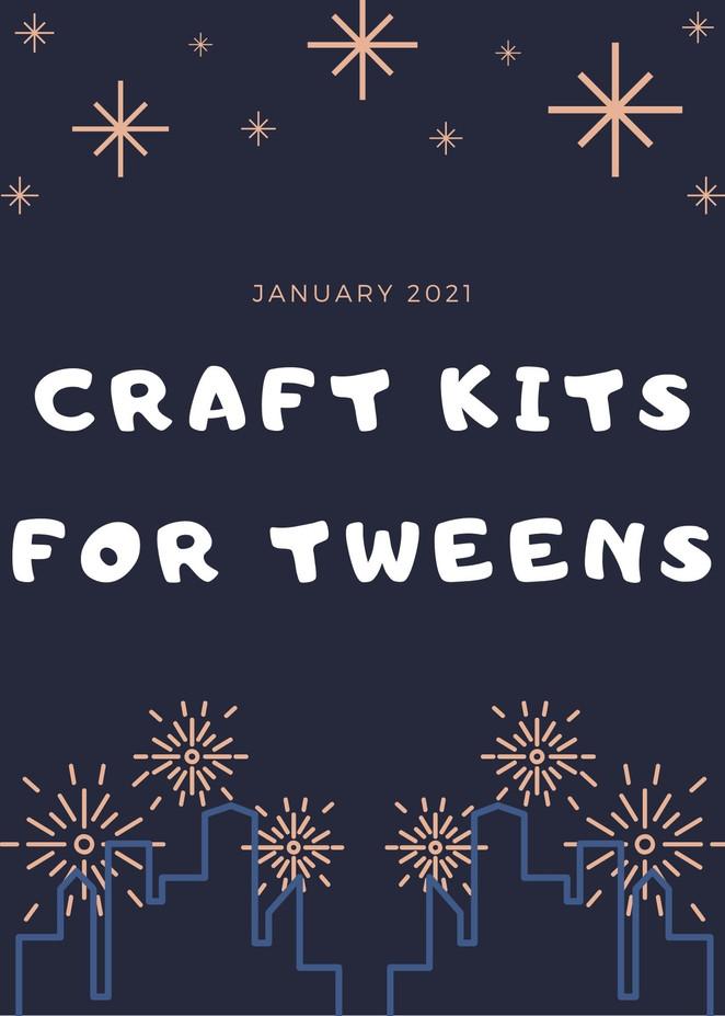 Pick up Crafts for Tweens