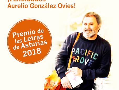 Felicitaciones por el XIII Premio de las Letras de Asturias