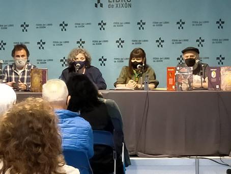 Presentación de 'BocArtes y Oficios' y 'Adela y el monstruo Roco' en la Feria del Libro de Gijón