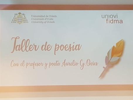 Taller de poesía en FIDMA