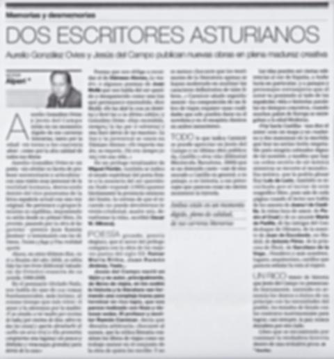 Artículo de opinión de Víctor Alperi en La Voz de Asturias