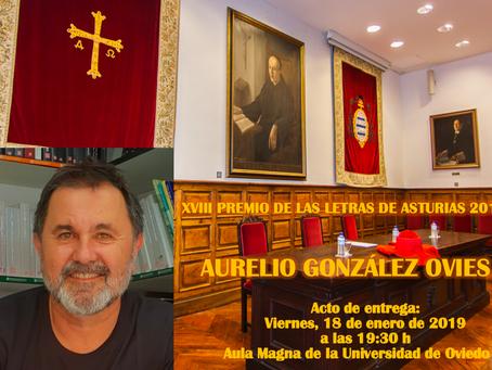 Entrega del Premio de las Letras de Asturias 2018
