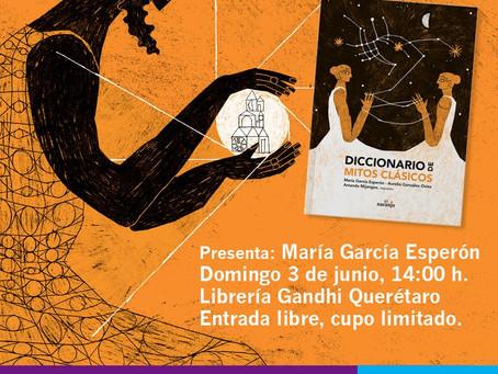 Presentación de 'Diccionario de mitos clásicos' en Querétaro (México)