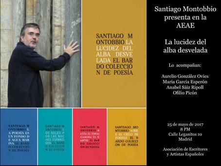 Santiago Montobbio presenta nuevo libro acompañado de amigos