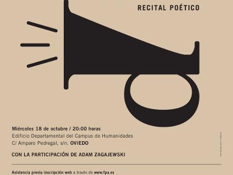 Recital «Poesía contra la indiferencia»