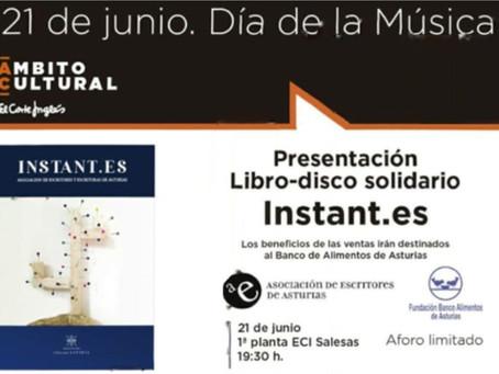 Escritores y cantantes asturianos, en un libro a favor del Banco de Alimentos
