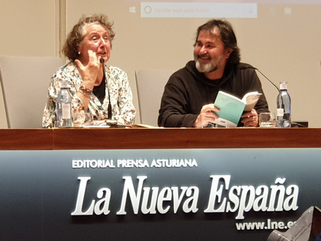 Diálogo entre Dorita García Blanco y Aurelio González Ovies